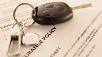 <p>car insurance with keys</p>