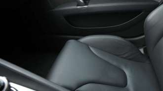 Leather Car Seat Detail